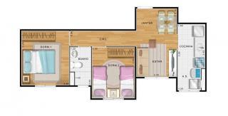 Santo André: Apartamento de 2 dormitorios á partide de R$ 179 mil 7