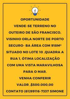 Porto Seguro: Oportunidade próximo a praia 1