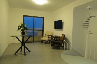 São Paulo: Apartamento duplex mobiliado com varanda e vaga coberta 2