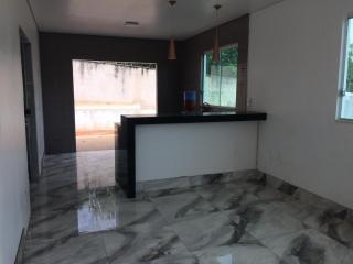 Lagoa Santa: Casa nova, 03 quartos, suite, lote de 525,00m² em condomínio fechado 2