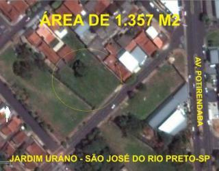 São José do Rio Preto: Área Terreno 1.357 m2 Bom para Prédio Barracão Empresas Depósito 1