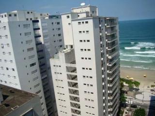 Guarujá: Apartamento em Pitangueiras no Guarujá 130 Metros Quadrados Vista Lateral para o Mar 1