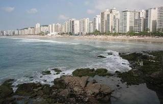 Guarujá: Apartamento em Pitangueiras no Guarujá 130 Metros Quadrados Vista Lateral para o Mar 2