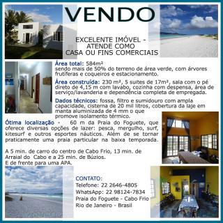 Cabo Frio: Compre Casa em Cabo Frio-RJ Urgente Motivo Viagem 8