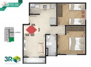 Sorocaba: Vende-se Apartamento com Dois Dormitórios - Vila Nova Sorocaba. 6