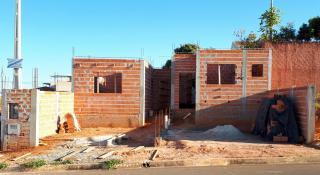 Cerquilho: Obra adiantada, 2 casas geminadas em lote no Centro de Cerquilho, terreno de 275m2 2