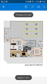 Belo Horizonte: Vende-se Apartamento Excelente acabamento e localização 2QTS 2VGS, TIPO, COBERTURA E ÁREA PRIVATIVA 8