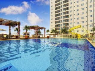 Santos: Apto 2 Dorms 1 Suíte, Área Privativa; Churrasqueira, Complexo Aquático, Academia, Cinema, Ar Condicionado 2