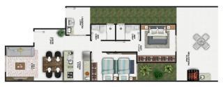 Brusque: Casa Baixa tipo geminado de excelente padrão 4
