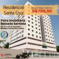 São Vicente: Apto 2 dorms, 1 vaga garagem, piscina, salão de festas, monitoramento 24h