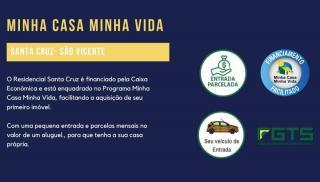 São Vicente: Apto 2 dorms, 1 vaga garagem, piscina, salão de festas, monitoramento 24h 3