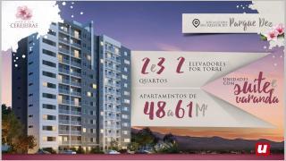 Manaus: MCMV com Suíte, Varanda e Elevador em 12 andares no Parque 10 1