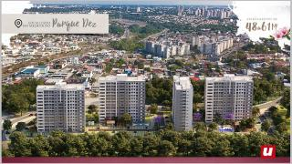 Manaus: MCMV com Suíte, Varanda e Elevador em 12 andares no Parque 10 7