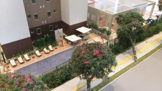 Goiânia: Apartamento de 2/4 sendo 1 suíte, 1 vaga de garagem, elevador, documentação grátis. 2