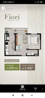 Barueri: Aptos designer 40,46 e 63 m2 1 e 2 domitorios Lazer completo 2
