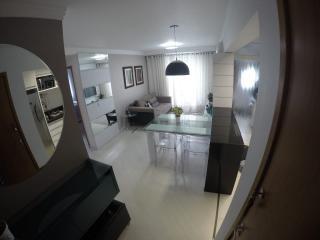 Curitiba: Prático apartamento 2 quartos em condomínio clube no Vista Alegre/Mercês 2