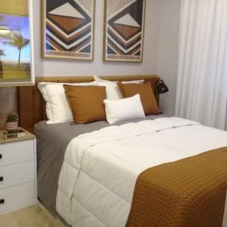 São Vicente: Residencial Santa Cruz Charmoso localizado no Centro da 1ª Cidade do Brasil, dois quarteirões da praia 4