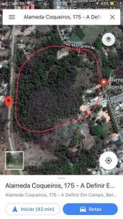 Betim: Vende-se terreno 21000 metros quadrados. A 7 km do centro de Betim. 800 m da BR 381. Estrada de Inhotim. Cercado de asfalto. Luz e água 1