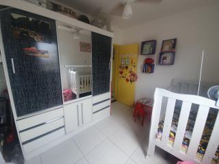 Santos: Apartamento 2 quartos, suite e WC social, reformado, garagem demarcada, bx condomínio 5