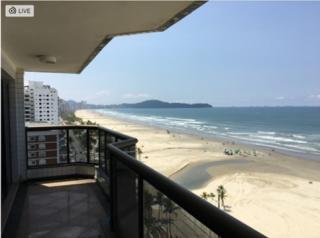Praia Grande:  APARTAMENTO com SALA AMPLA e Uma VISTA INCRÍVEL de todos os AMBIENTES para o MAR!!!! 3