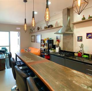 Governador Celso Ramos: Apartamento pronto para morar e com mobília, próximo a praia. 1