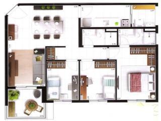 Santos: apartamento em santos | molezinha 2