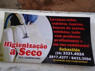 higienizaçao a seco